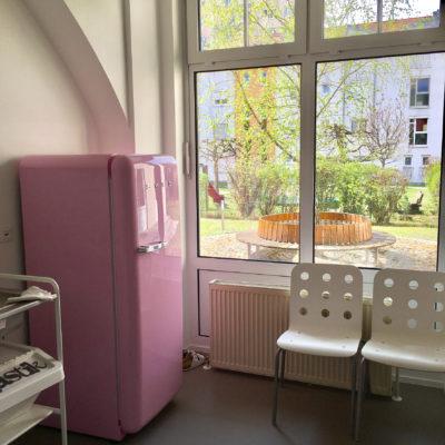 Warteraum Ordination Kinderarzt Graz Eggenberg, Dr. Julia Höntzsch